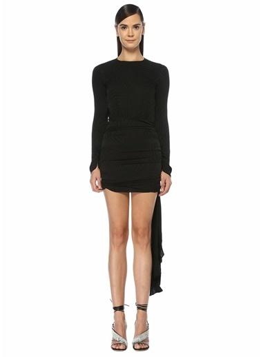 Attico Elbise Siyah